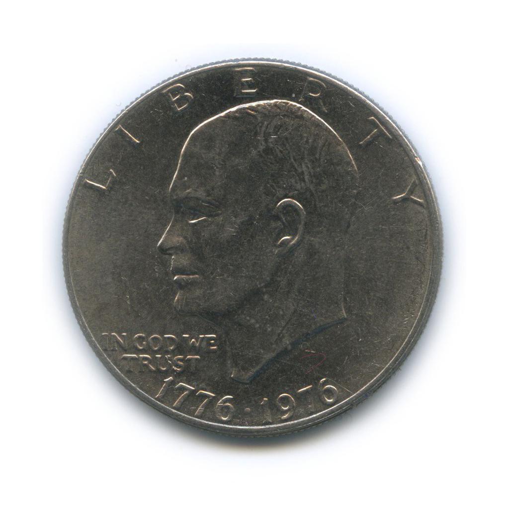 1 доллар— 200 лет независимости США 1976 года (США)