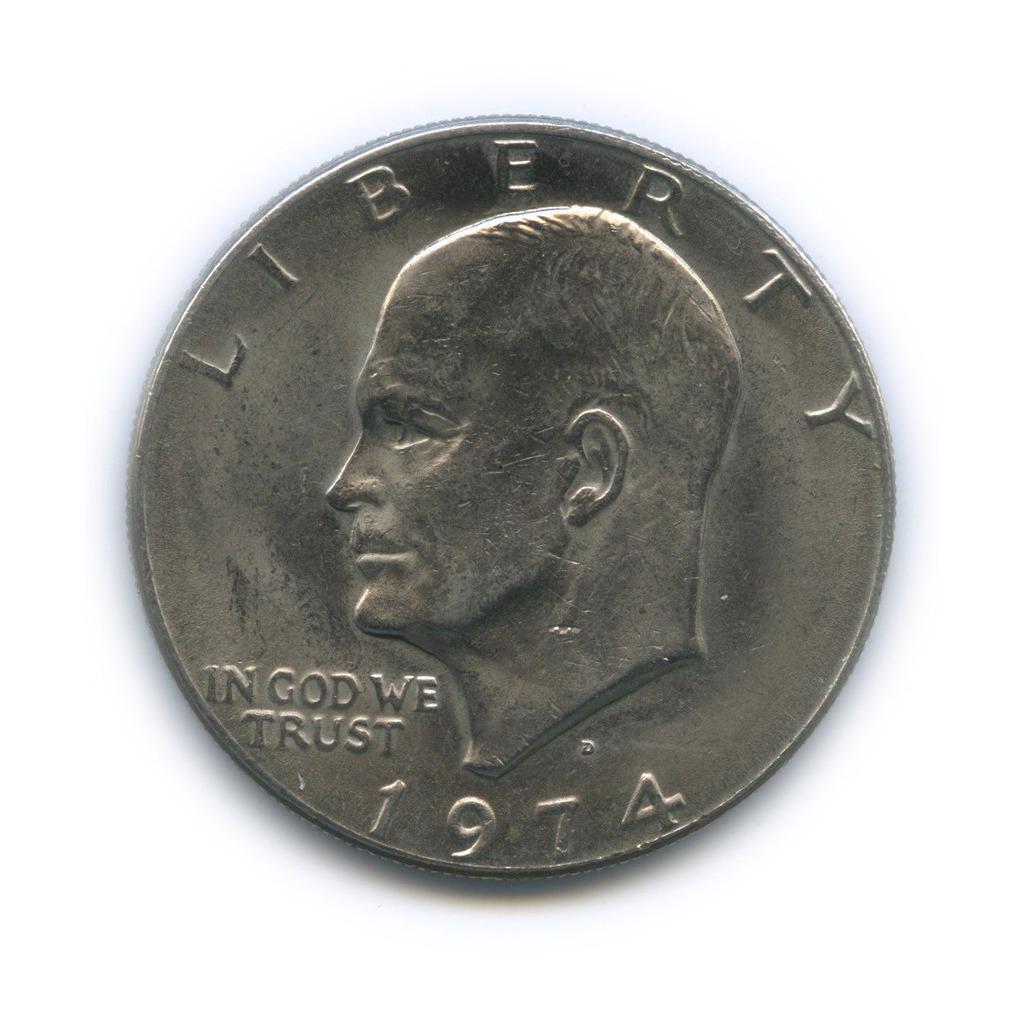 1 доллар 1974 года D (США)
