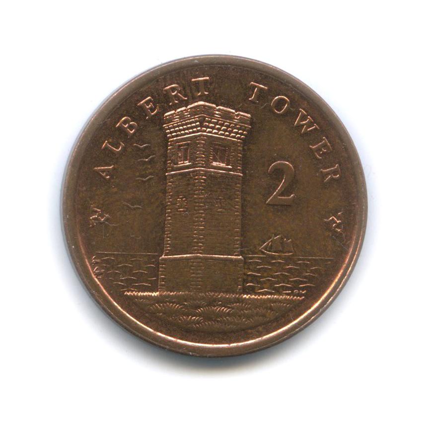 2 пенса, Остров Мэн 2008 года