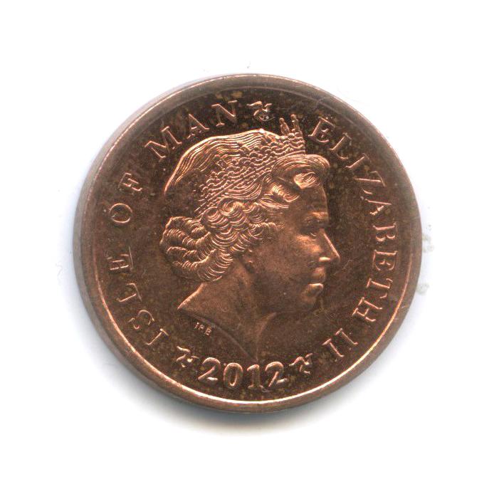 1 пенни, Остров Мэн 2012 года