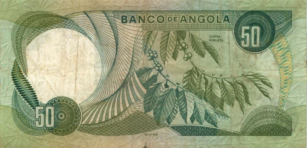 50 эскудо (Ангола) 1972 года