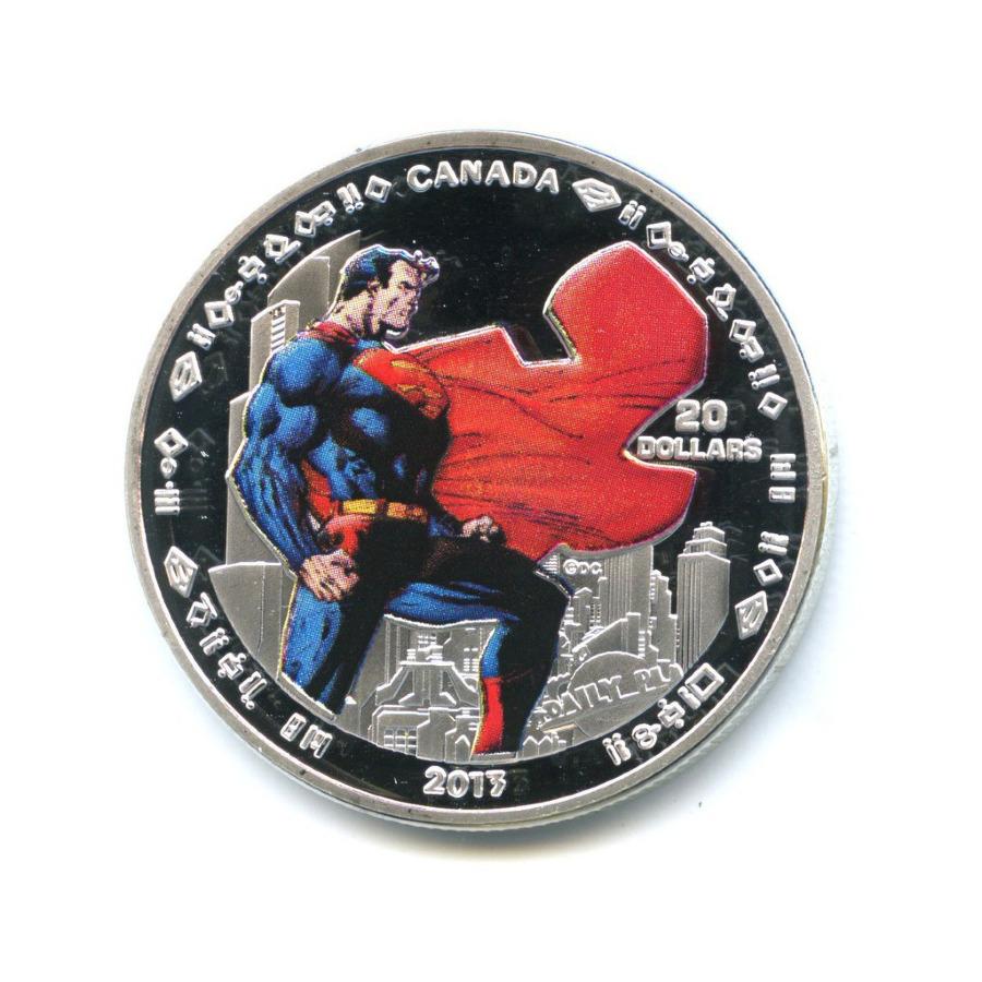 Жетон «20 dollars 2013 - 75th Anniversary Superman» (реплика)