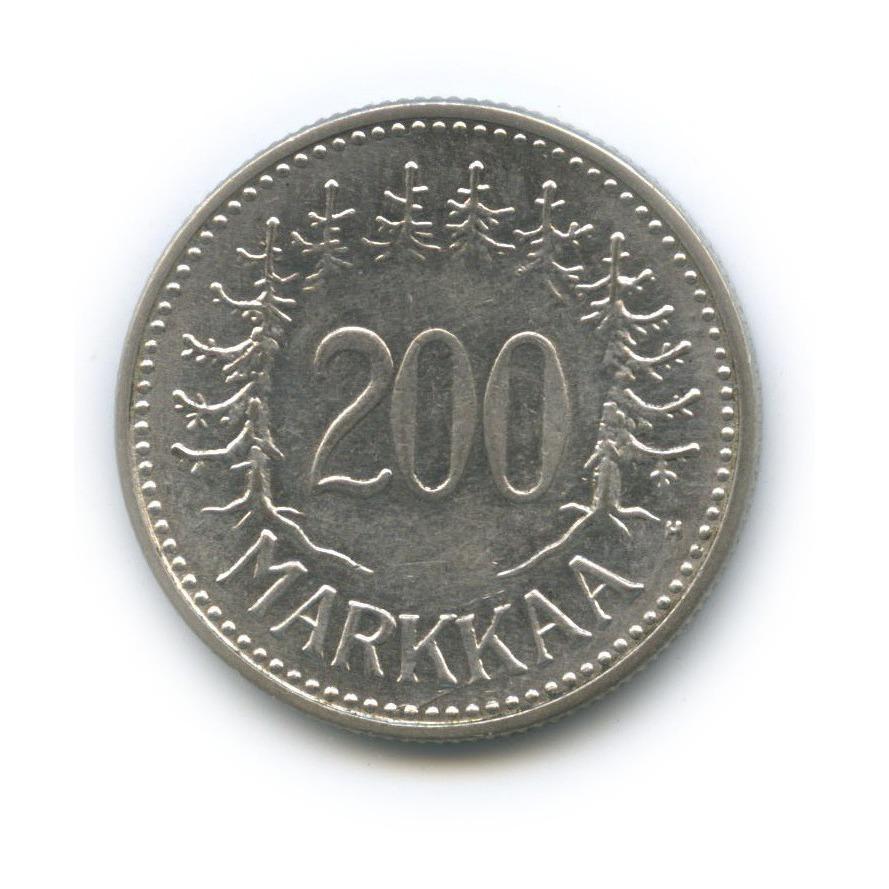 200 марок 1956 года (Финляндия)