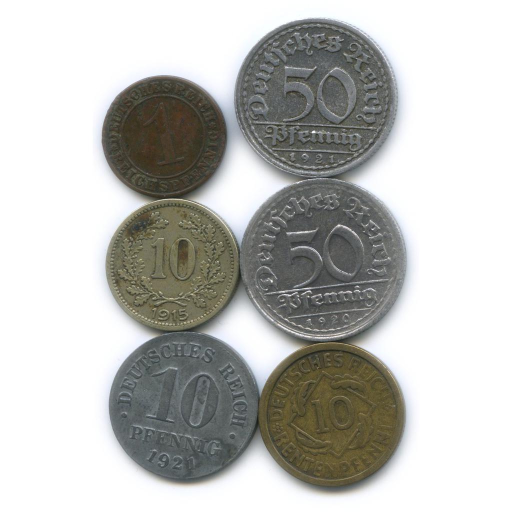 Набор монет (Австрия, Германия)