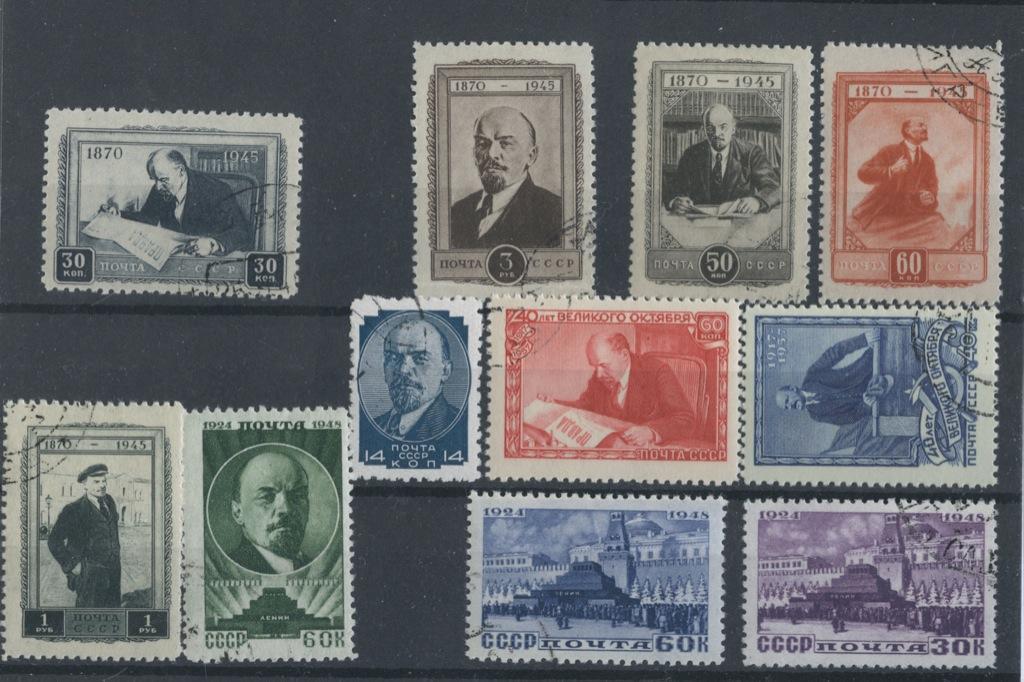 Набор почтовых марок «В.И. Ленин» (СССР)