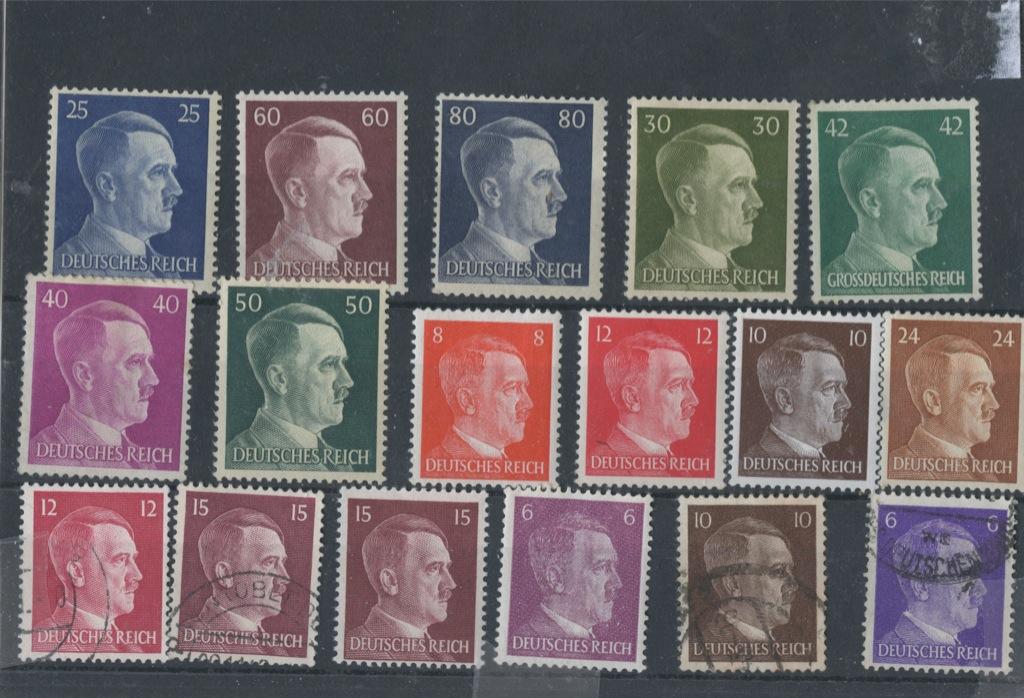 Набор почтовых марок (Германия (Третий рейх))