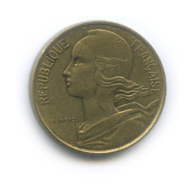 10 сантимов 1973 года (Франция)