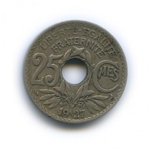25 сантимов 1927 года (Франция)