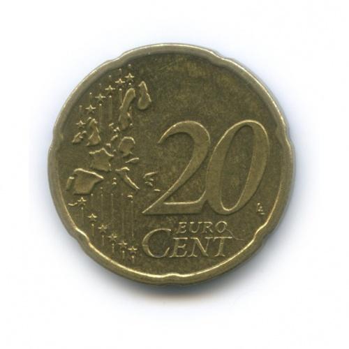 20 центов 2002 года A (Германия)