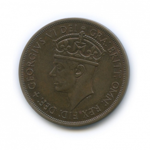 1/12 шиллинга, о. Джерси 1945 года
