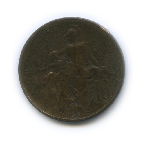 10 сантимов 1898 года (Франция)