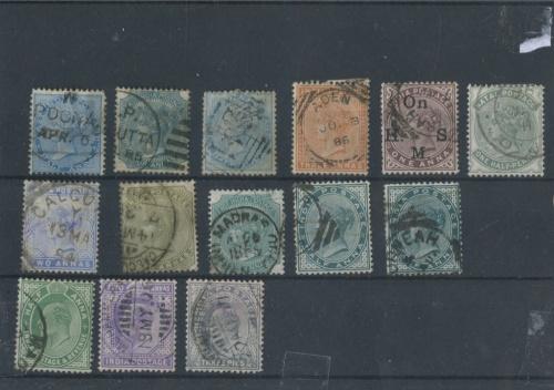 Набор почтовых марок, Английские колонии (1863−1907 годы) (Великобритания)