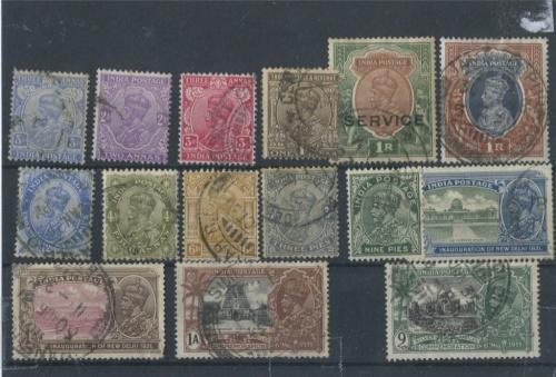 Набор почтовых марок, Английские колонии (1910−1937 годы) (Великобритания)