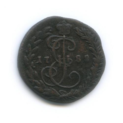 Денга (½ копейки) 1788 года КМ (Российская Империя)