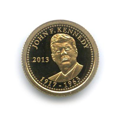 Аукцион СПБ: 1 тала— Джон Фицджералд Кеннеди, Самоа 2013 года