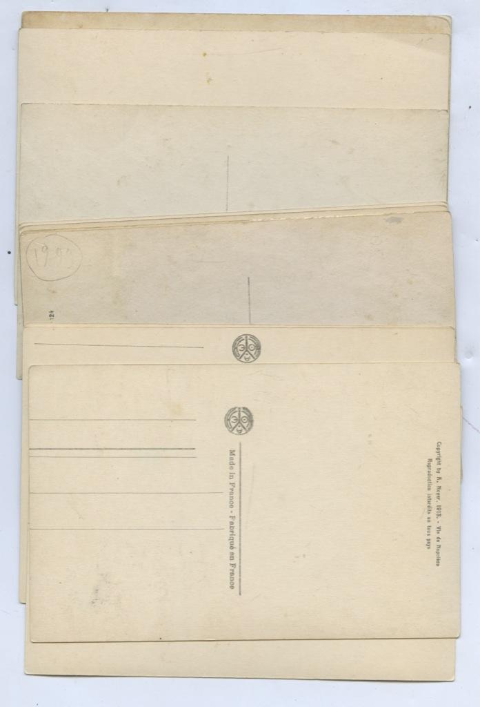 Набор почтовых карточек «Наполеон» (12 шт.) (Франция)