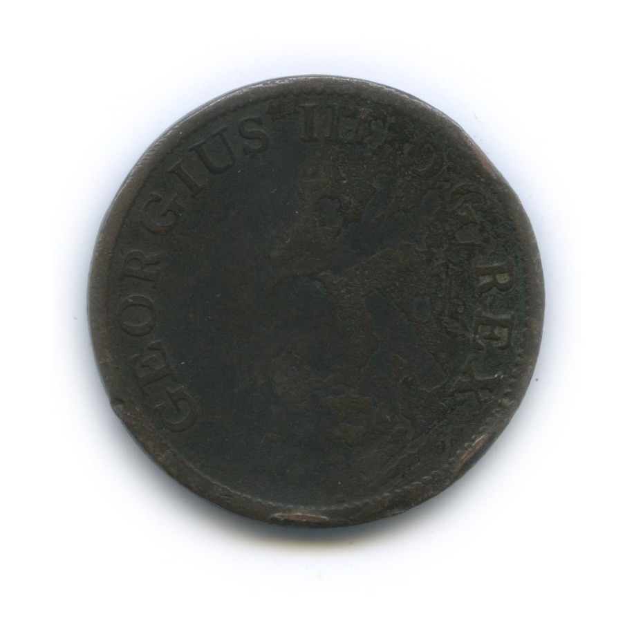 ½ пенни 1805 года (Ирландия)