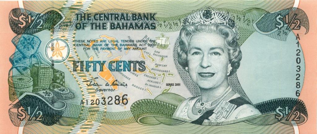 50 центов 2001 года (Багамы)