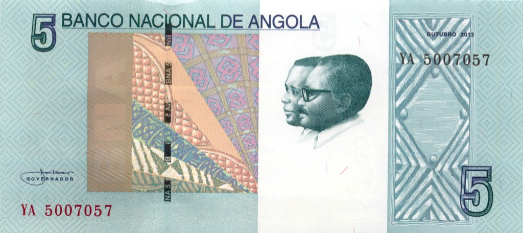 5 кванза (Ангола) 2012 года