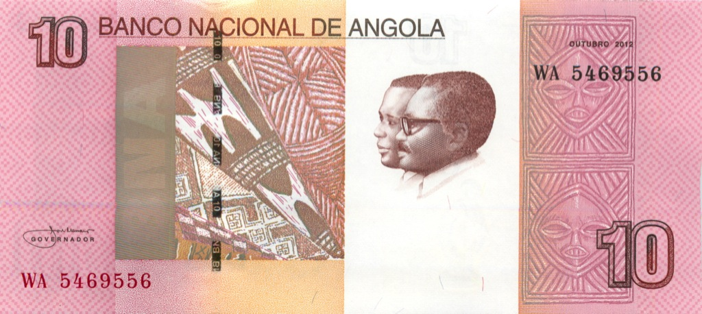 10 кванза (Ангола) 2012 года