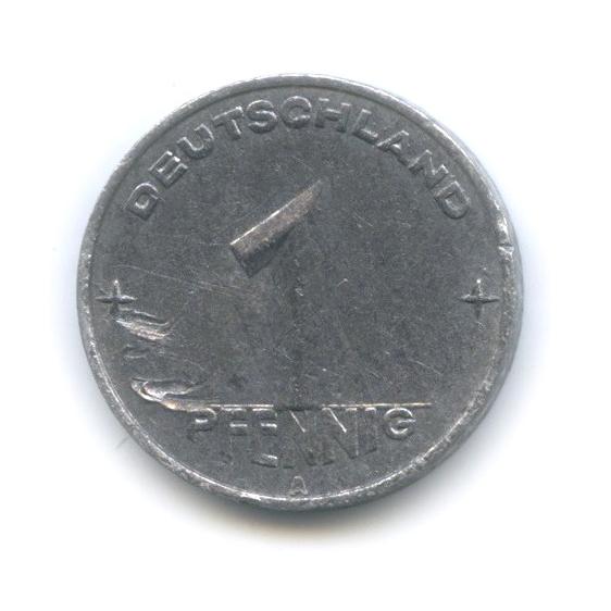 1 пфенниг 1952 года A (Германия (ГДР))