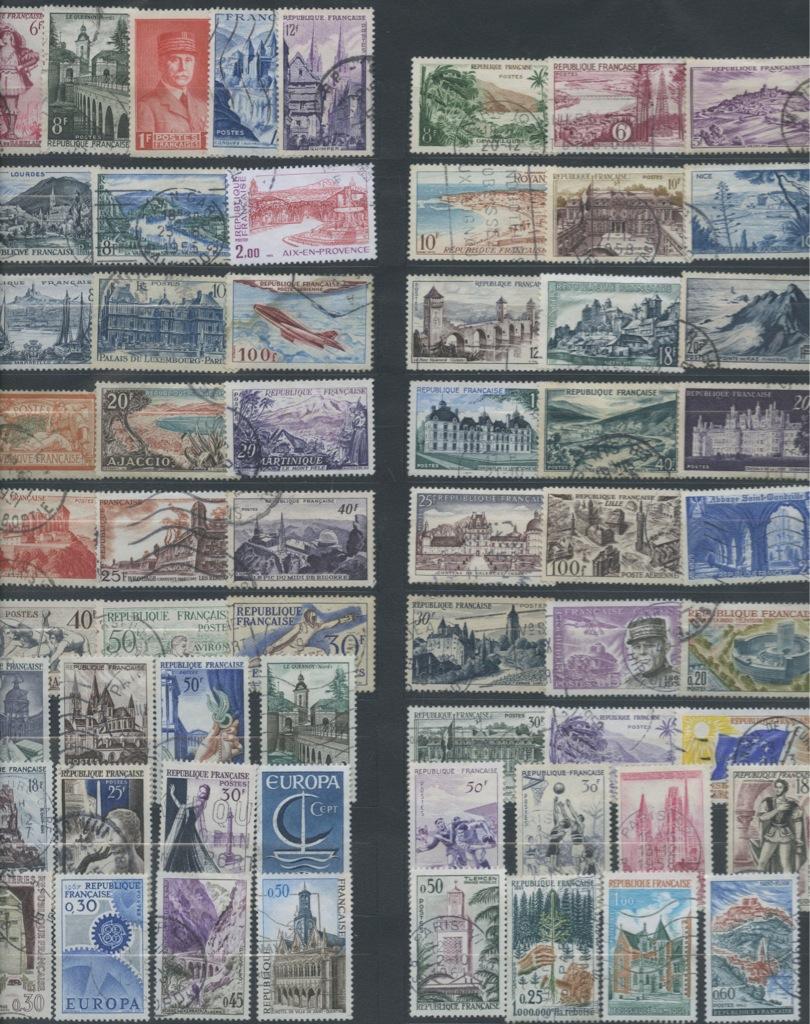 Набор почтовых марок (Франция)