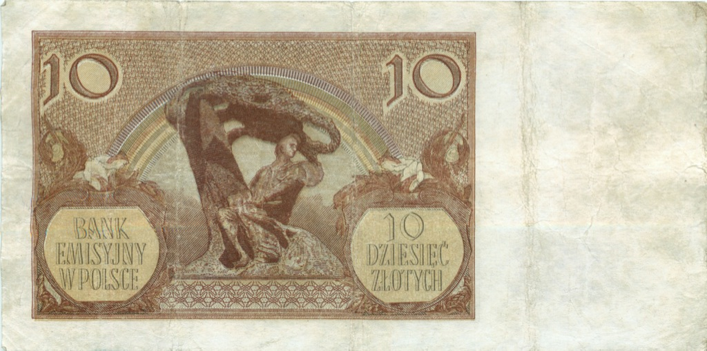10 злотых 1940 года (Польша)