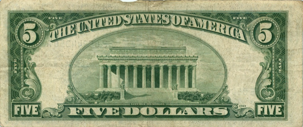 5 долларов 1953 года (США)