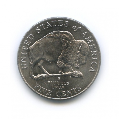 5 центов— Бизон. 200 лет экспедиции Льюиса иКларка. 2005 года P (США)