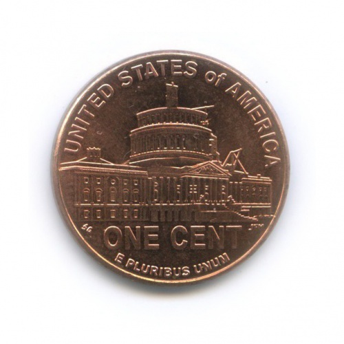 1 цент— Президентство вВашингтоне. 200 лет содня рождения Авраама Линкольна. 2009 года (США)