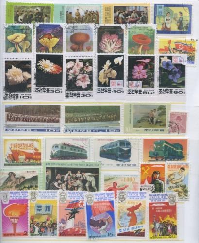 Набор почтовых марок (Северная Корея)