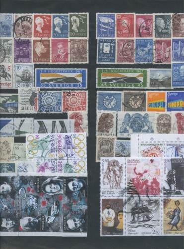 Набор почтовых марок (Швеция)