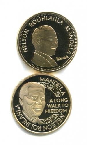 Набор жетонов «Нельсон Мандела»