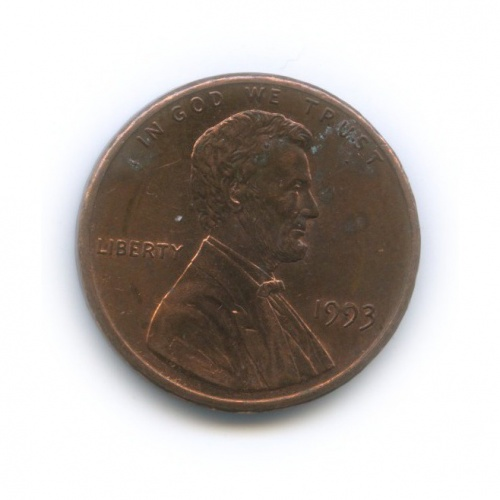 1 цент 1993 года (США)