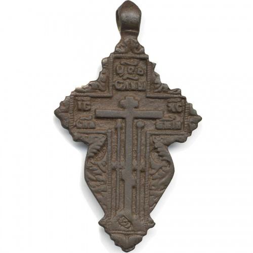 яркий, нем крестик лепесток с керамикой старинный цена медь Магнитогорске