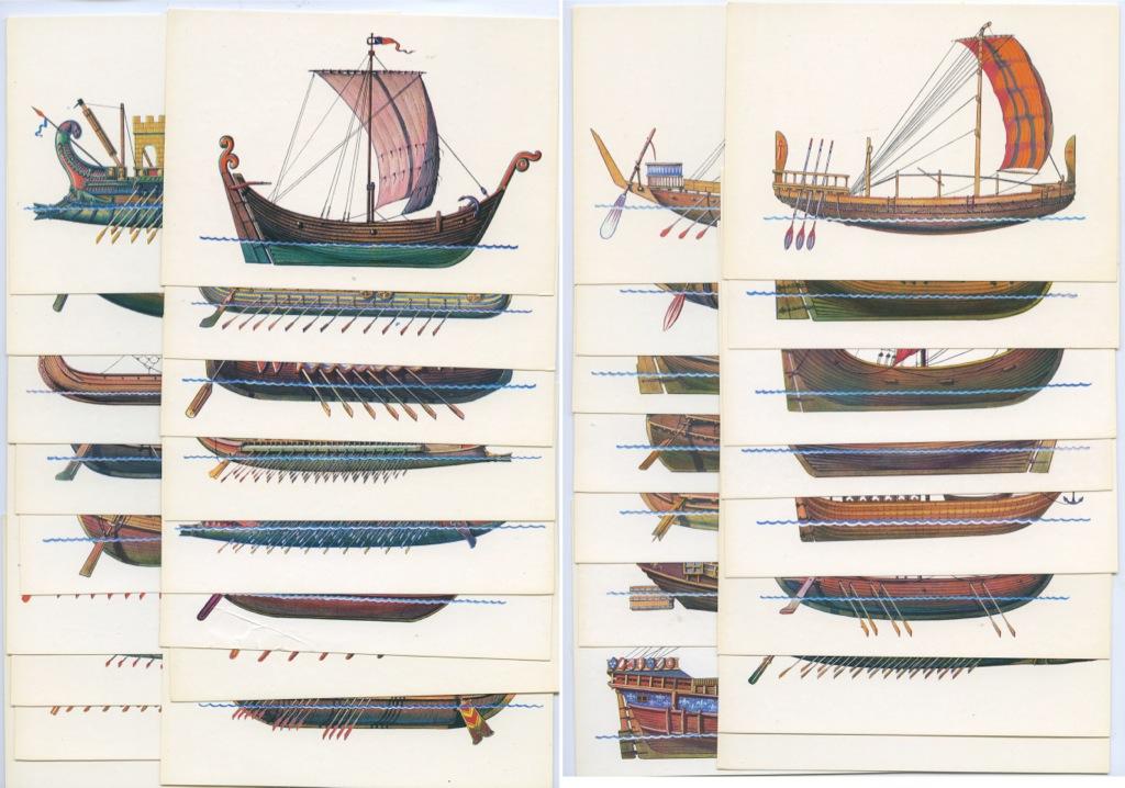 Надписью меня, набор открыток история корабля цена