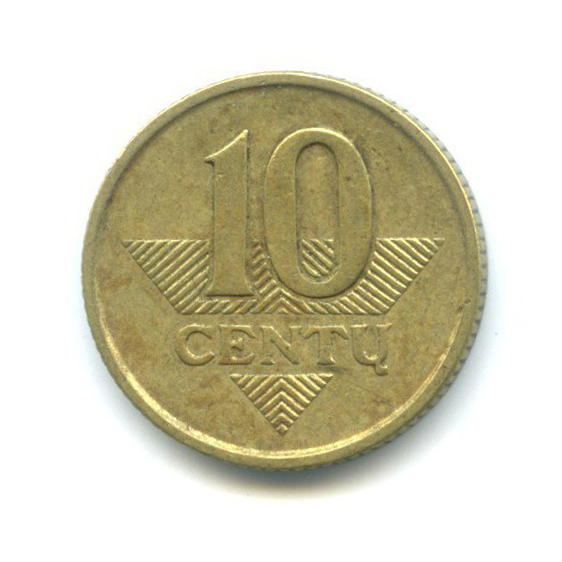 10 центов 1998 года (Литва)