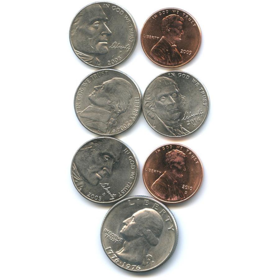 Набор юбилейных монет (США)