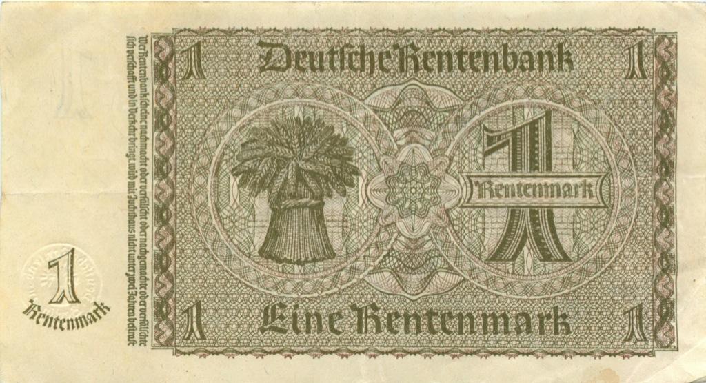 1 рейхсмарка 1937 года (Германия)