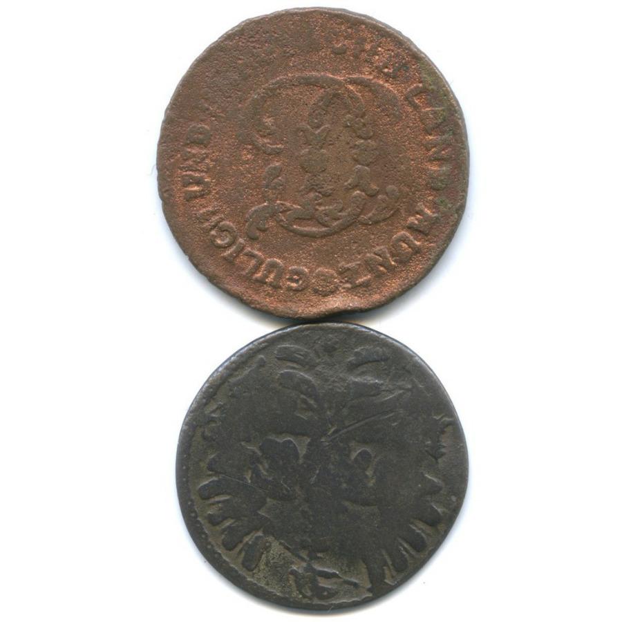 Набор монет 1/2 стюбера, 12 геллеров (Юлих-Берг, Ахен) 1790, 17?? (Германия)
