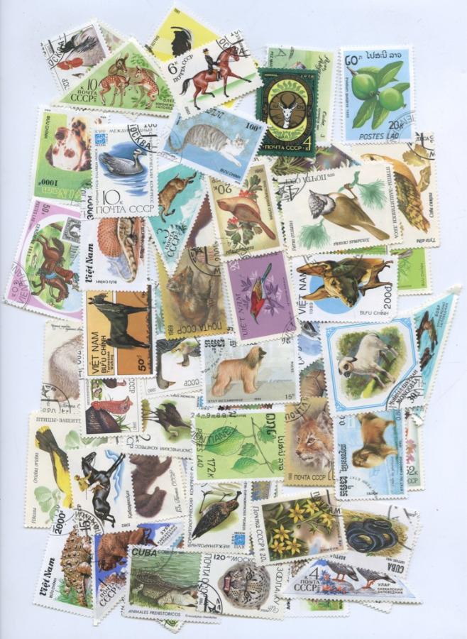 Набор почтовых марок (68 шт.) (СССР)