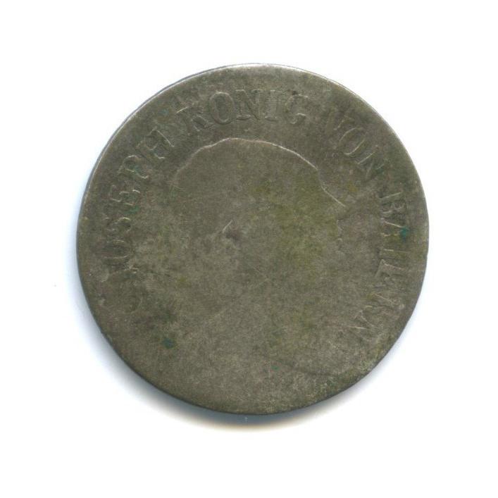 6 крейцеров - Максимилиан Иосиф, Бавария 1808 года