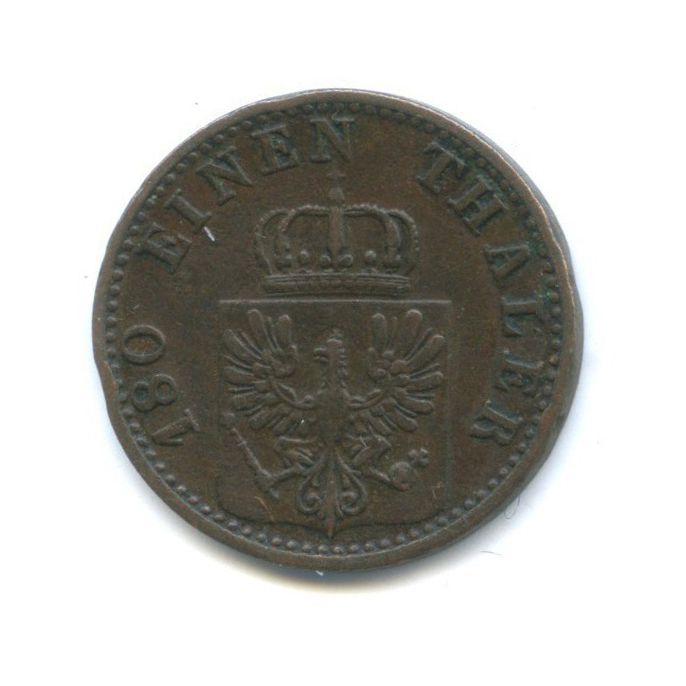 2 пфеннинга, Пруссия 1869 года А