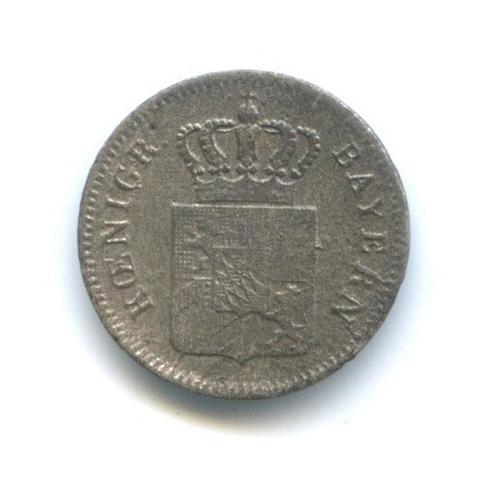 1 крейцер, Бавария 1848 года
