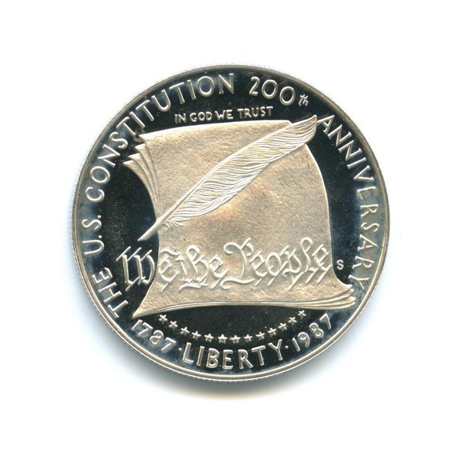 1 доллар — 200 лет Конституции США 1987 года S (США)