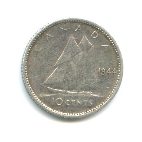 10 центов 1944 года (Канада)