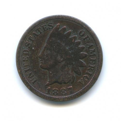 1 цент 1887 года (США)