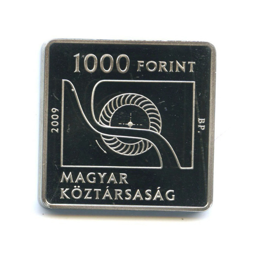 1000 форинтов - 150 лет содня рождения Доната Банки 2009 года (Венгрия)