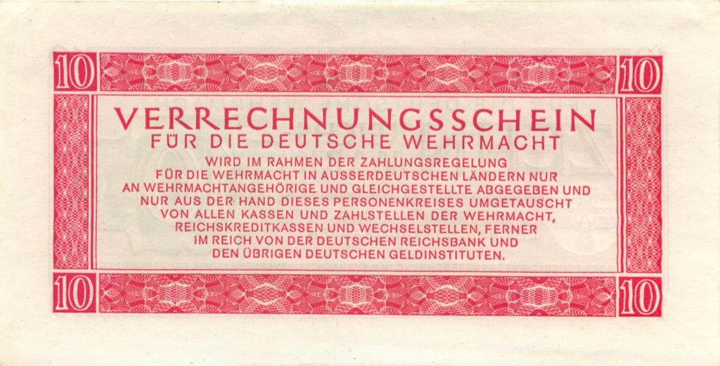 10 рейсмарок 1944 года (Германия (Третий рейх))