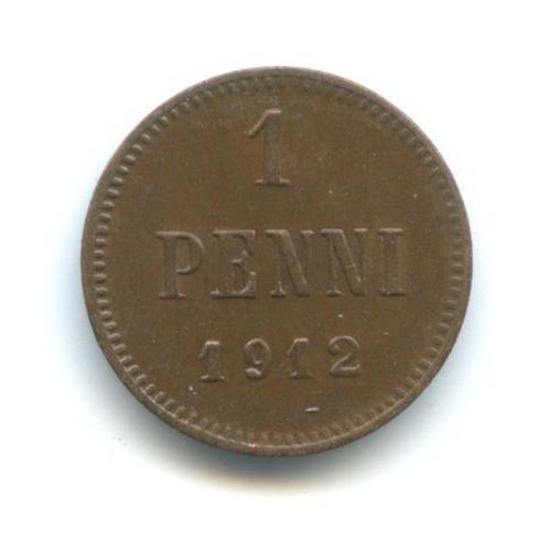 1 пенни 1912 года (Российская Империя)